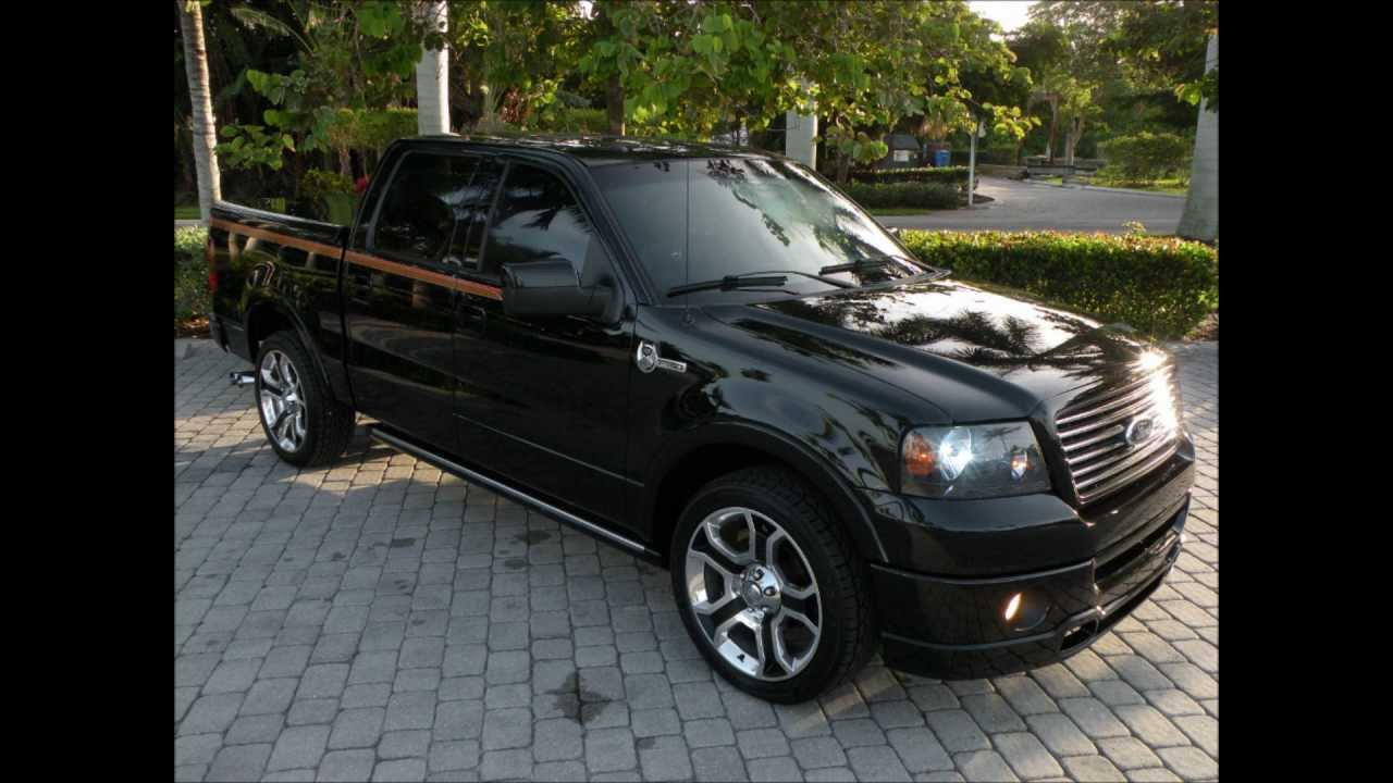 08 Ford F150 Harley Davidson Edition Truck For Sale