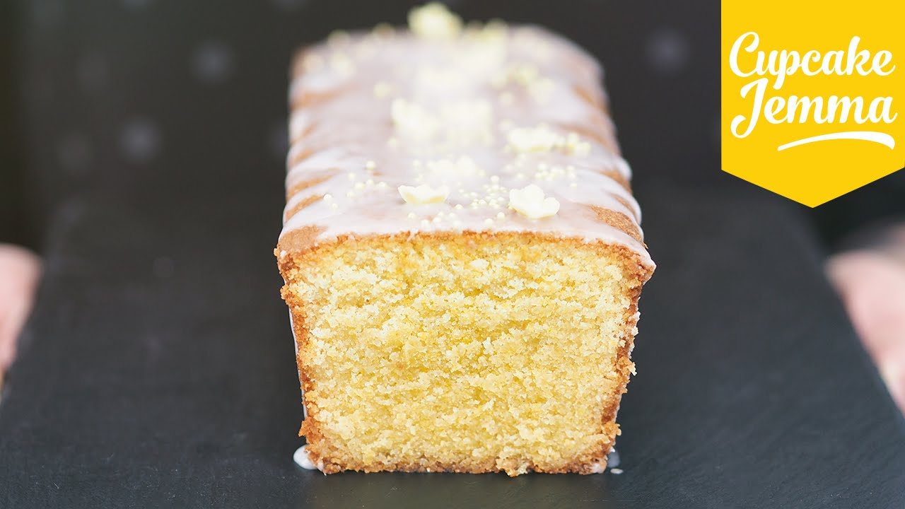 Lemon Polenta Cake Recipe Cupcake Jemma Youtube