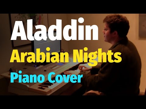 Aladdin  Arabian Nights  Piano  & Sheet