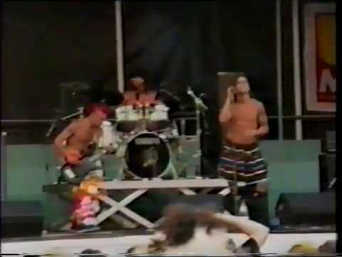 Red Hot Chili Peppers 1989-08-26 Dam Square (Uitmarkt), Amsterdam, NL [AMT #1]