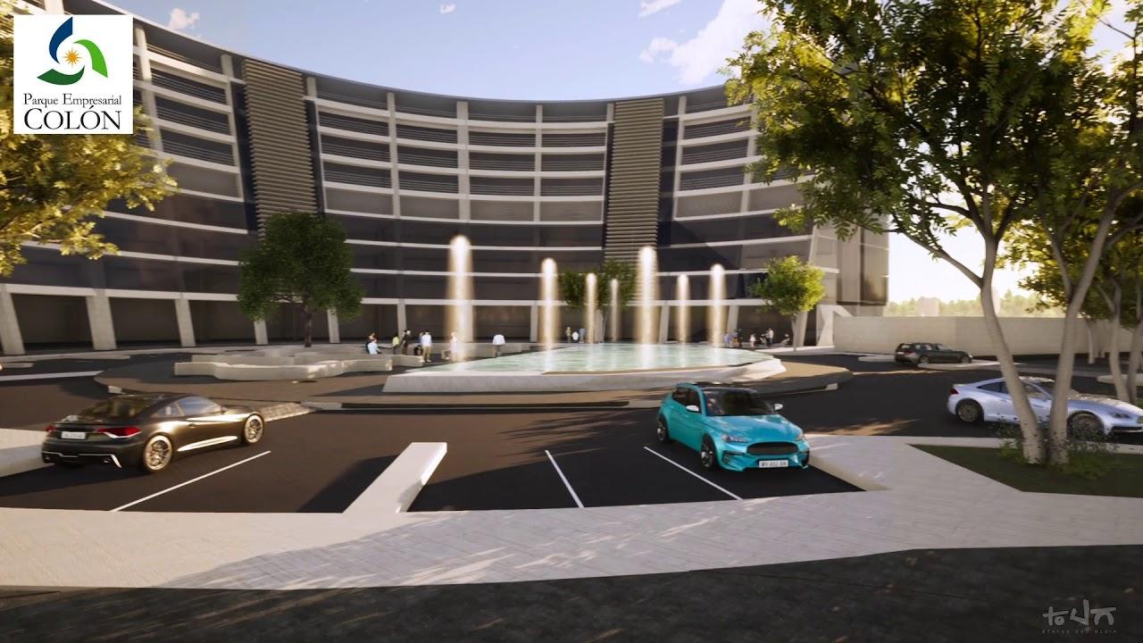 3D para Parque Empresarial Colón