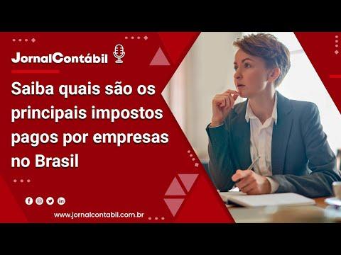 Saiba quais são os principais impostos pagos por empresas no Brasil