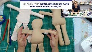 Aprenda a Fazer Corpinhos de Boneca Resistentes Para Crianças