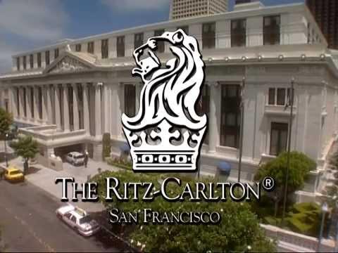 the ritz carlton san francisco usa hotel travel videos. Black Bedroom Furniture Sets. Home Design Ideas