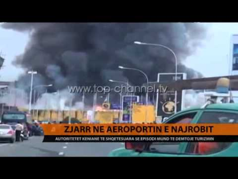 Flakët mbyllin aeroportin kenian - Top Channel Albania - News - Lajme