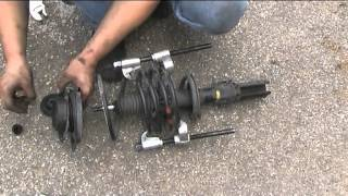 Front shocks replacement (Mac Pherson).