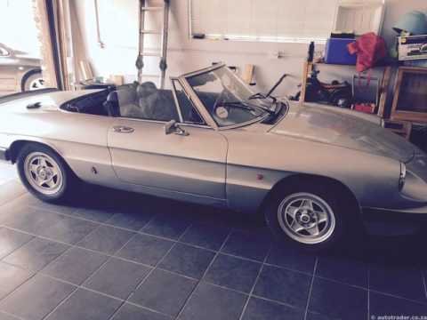 1986 ALFA ROMEO SPIDER Auto For Sale On Auto Trader South Africa