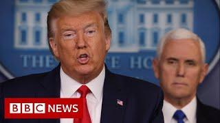 Trump invoke the Defence Production Act to prevent the spread of coronavirus  - BBC News