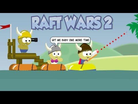 THE CRAZIEST TRICK SHOT EVER! | Raft Wars 2