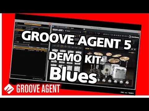GROOVE AGENT 5 - Demo Blues Kit