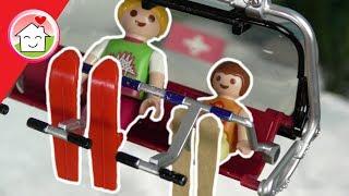 Playmobil Familie Hauser fährt Ski - Kinderfilm - Playmobil film deutsch