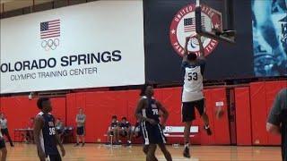 David Johnson Highlights at USA Basketball
