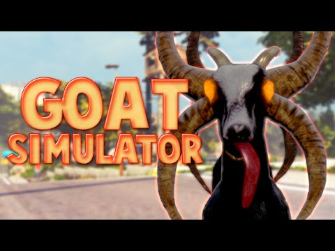 FLYING DEVIL GOAT! | Goat Simulator