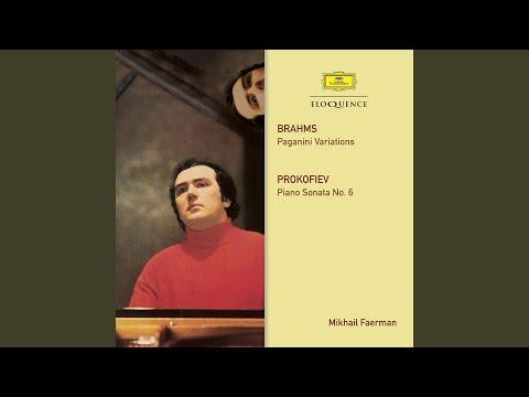 Prokofiev: Piano Sonata No.6, Op.82 - 1. Allegro moderato (Live)