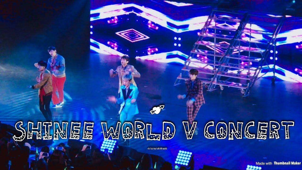 샤이니 SHINee World V in LA FULL CONCERT 2017 March 26th ♡