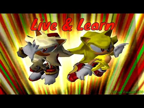 Sonic & Shadow - Live And Learn AMV