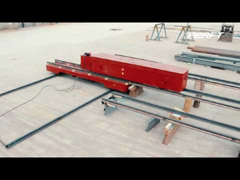 Self Rail Guided Vehicle System For Industrial Warehouse