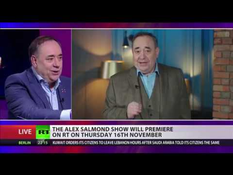 The Alex Salmond Show launches on RT