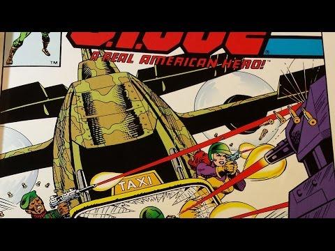 "HCC788 - G. I. Joe #13 - COMIC BOOK review - ""Last Plane from Rio Lindo"