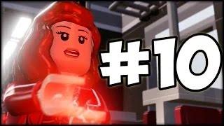 Lego Marvel Avengers Прохождение на русском - Часть 10 - Финал за мстителей