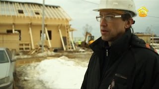 Монтаж домов из клеёного бруса  // FORUMHOUSE(В работе с любым материалом существуют свои нюансы. Есть они и в работе с клеёным брусом. Выясняем подробнос..., 2012-05-25T23:10:34.000Z)