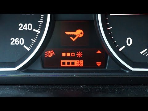 BMW automatic headlights sensitivity setting coding (E87 E90)
