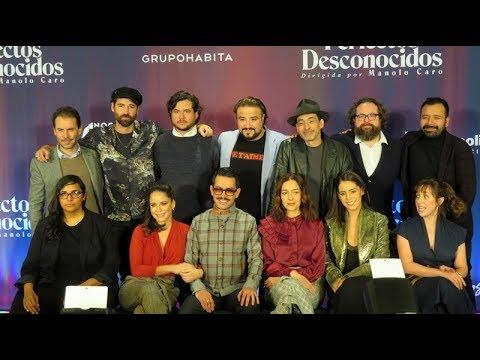 Ver PERFECTOS DESCONOCIDOS –  CONFERENCIA DE PRENSA –  CINE –  MEXICO en Español
