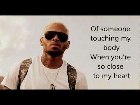 Chris Brown  Dont Judge Me w Lyrics On Screen HQ