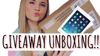 Giveaway Unboxing | rileywilliamson ♡