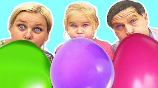 Balloon Song Learn colors with Balloons ! Nursery Rhymes | Kids Songs #2