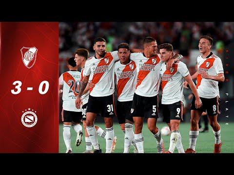 River 3 - Argentinos 0 [RESUMEN COMPLETO]