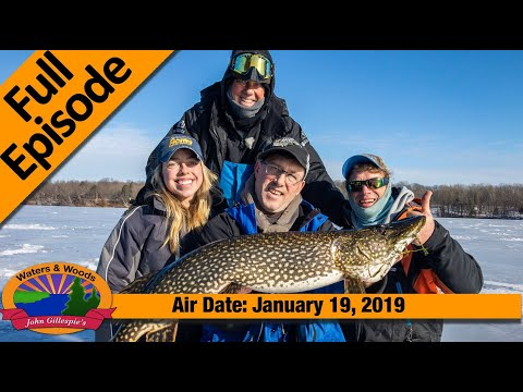 03_2019 | Ice Fishing In Hayward Wisconsin | FULL EPISODE