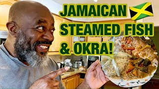 How to make JAMAICAN STEAMED FISH!