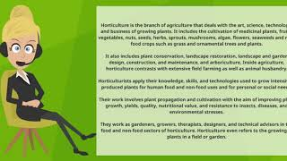 Video What is HORTICULTURE  What does HORTICULTURE mean  HORTICULTURE meaning & explanation download MP3, 3GP, MP4, WEBM, AVI, FLV Juli 2018