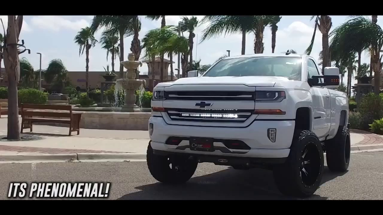 2016 Tahoe Lifted >> 2016 SILVERADO 6 INCH LIFT - YouTube