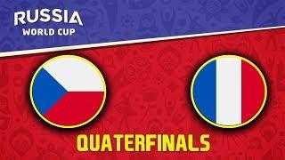 FIFA World Cup 2018 | Česko - Francie | Quaterfinals | CZ/SK