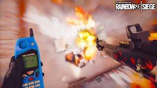 Breaching Destruction!! - Rainbow Six Siege Best Moments | HikePlays