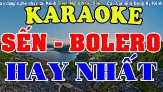 [KARAOKE] Liên Khúc Karaoke Nhạc Sến - Bolero - Trữ Tình Hay Nhất - Nhạc Sống Karaoke
