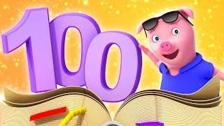 1-100 Numbers Song   Learn To Count   Videos For Babies by Farmees