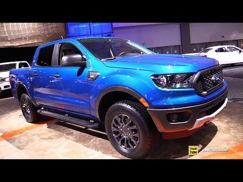 2019 Ford Ranger XLT - Exterior and Interior Walkaround - 2018 LA Auto Show