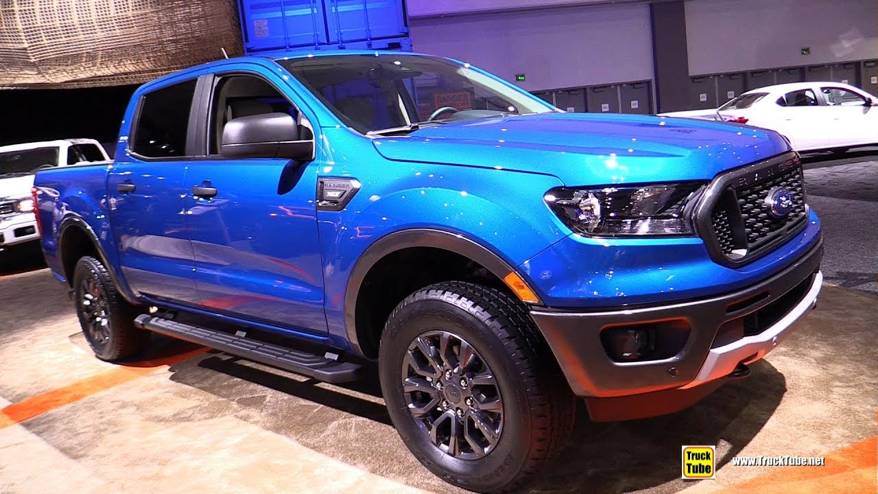 2019 ford ranger xlt exterior and interior walkaround 2018 la auto show transportation nation network