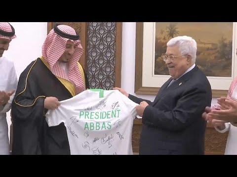 شاهد: المنتخب السعودي لكرة القدم في الأراضي الفلسطينية لأول مرة في تاريخه…  - 21:53-2019 / 10 / 13