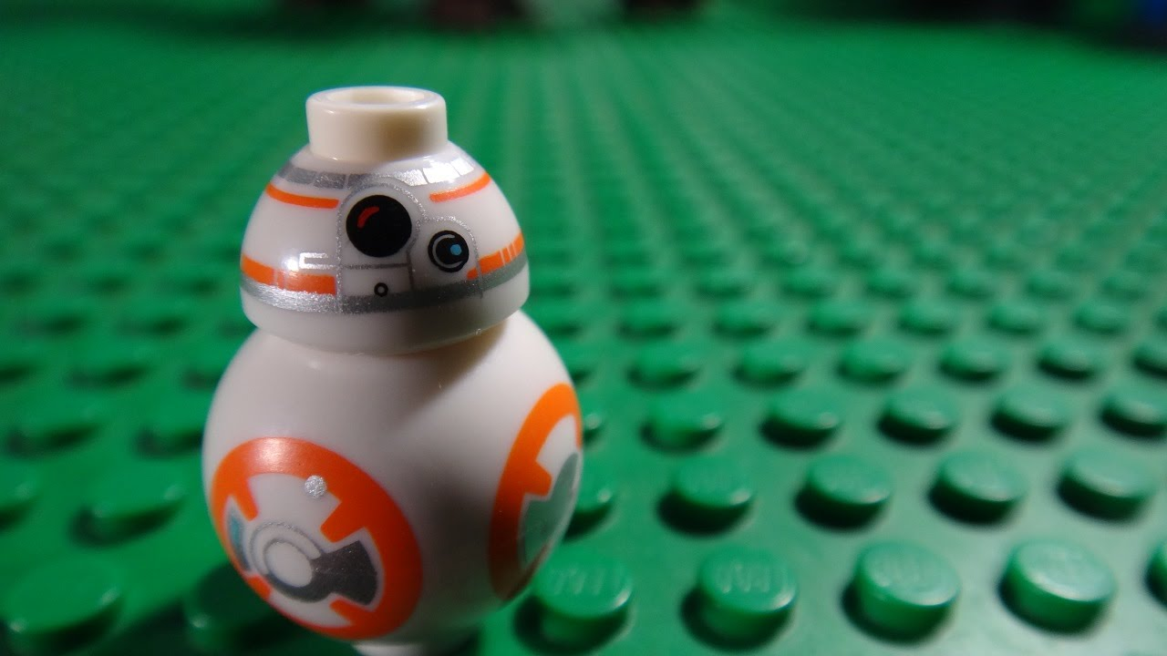 bb 8 vs r2 d2 lego star wars episode vii the force awakens youtube