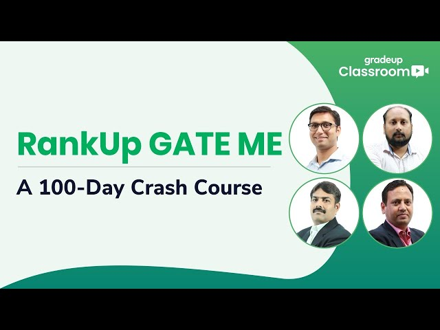 RankUp GATE ME: A 100-Day Crash Course