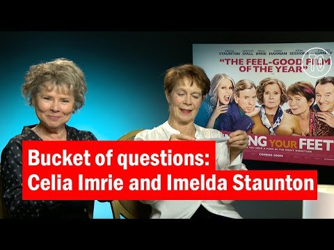 Imelda Staunton and Celia Imrie | Bucket of Questions | Time Out