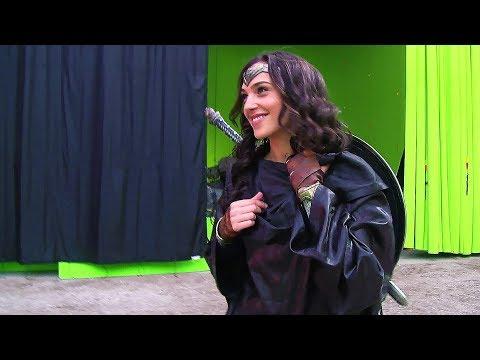 Wonder Woman 'Batman v Superman' Behind The Scenes [+Subtitles]