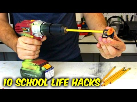 Thumbnail: 10 Back to School Life Hacks
