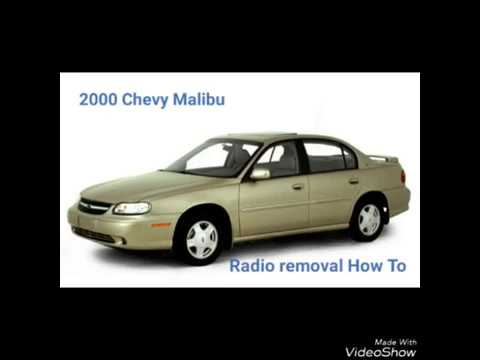 2000 Chevy Malibu Radio Removal 1997 2003
