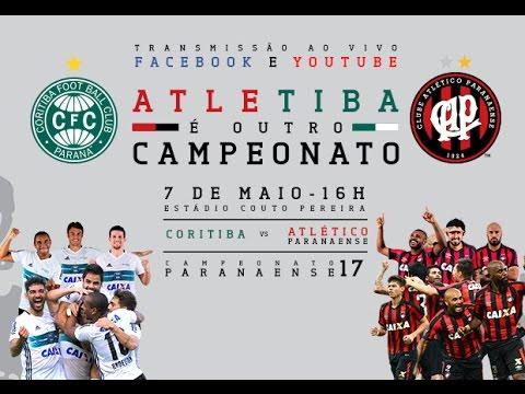 ATLETIBA - Coritiba x Atlético - FINAL do Campeonato Paranaense AO VIVO