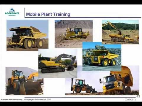 Training with return on Investment, Presented by Hefin Jones (Aggregate Industries)